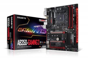 Gigabyte AB350-Gaming G3 - Best Budget Motherboard For AMD Ryzen Processor
