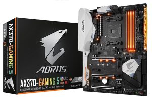 Gigabyte Aorus AX370 Gaming 5 - Best AMD Motherboard 2018