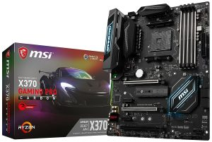 MSI X370 Gaming Pro Carbon - Best Affordable Gaming Motherboard 2018