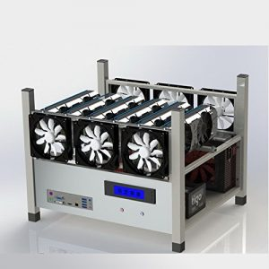 6 GPU Stackable Open Air Mining Case