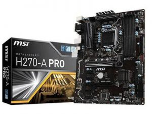 MSI H270 A Pro Motherboard