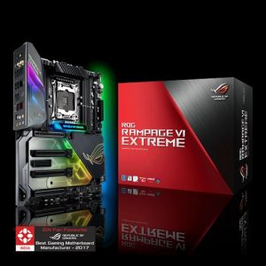 ASUS ROG Rampage VI Extreme with intel X299 - ultimate gaming motherboard