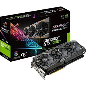 ASUS ROG STRIX GeForce GTX 1080 TI OC Edition - Ultimate Gaming Graphics Card