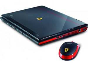 Acer Ferrari 1100 - Ferrari's Most Expensive Laptop in World