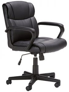 AmazonBasics Mid Back Gaming Chair