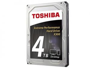 Toshiba X300 - Premium & Best Hard Drive For Gaming