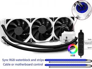 DEEPCOOL Storm Captain 360EX - Best Triple 120mm AIO Budget Liquid CPU Cooler