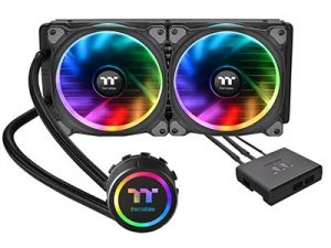 Thermaltake Water 3.0 Dual Riing RGB Edition CPU Liquid Cooler